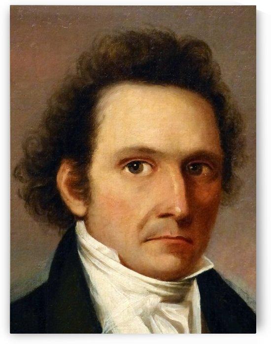 John James Audubon, Self-Portrait by John James Audubon