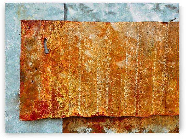 Corrugated Iron Series 15 by Lexa Harpell