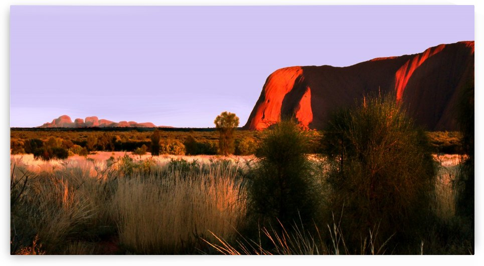 Sunrise on Uluru - Australia by Lexa Harpell