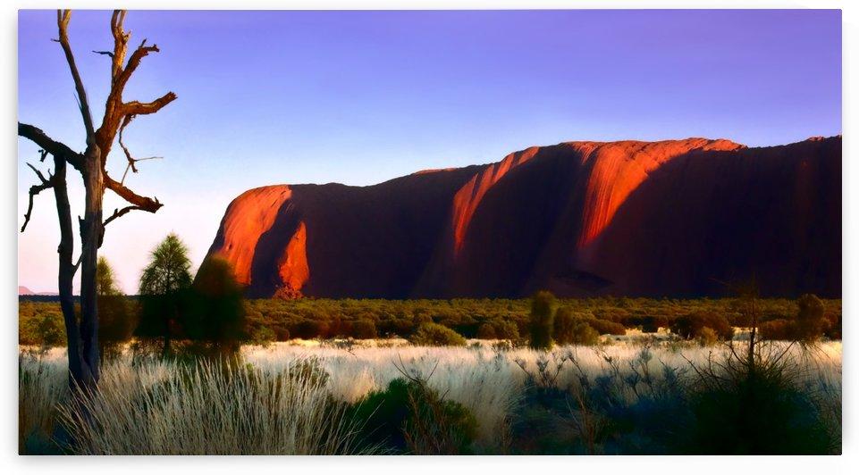 Sunrise on Uluru - Australia 3 by Lexa Harpell