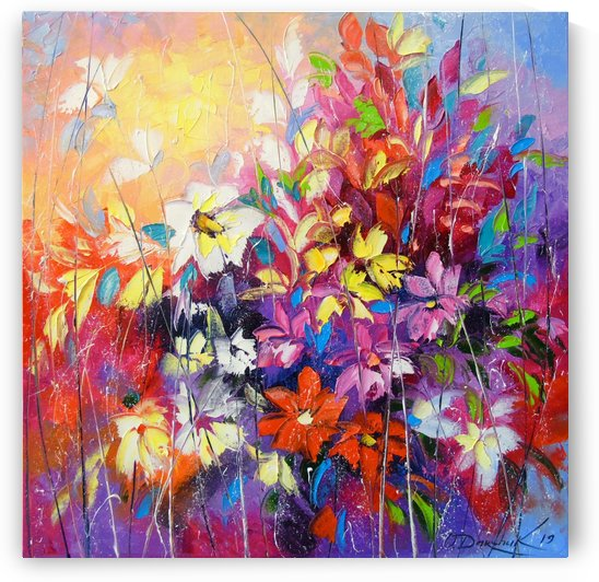 Dance of flowers by Olha Darchuk