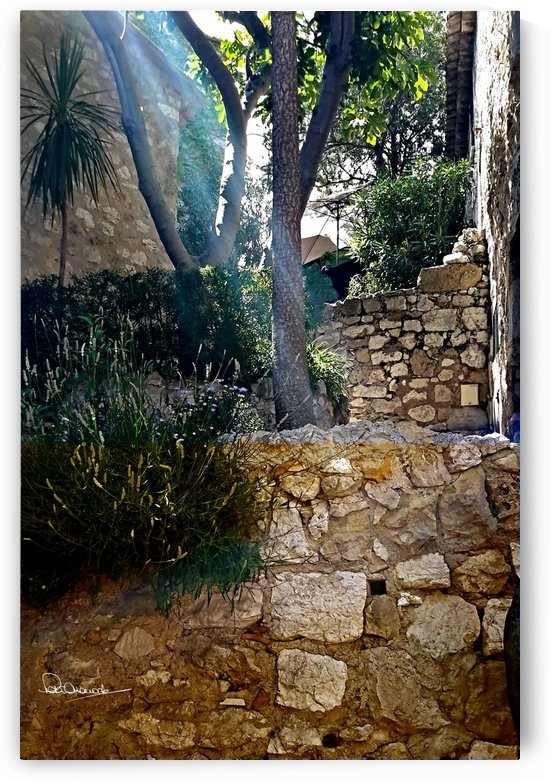 Eze Sunny Path by Shadow and Form