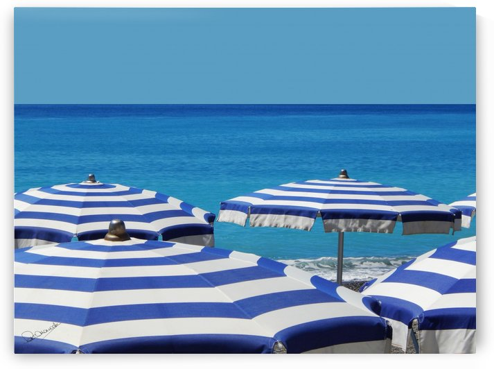 Blue Riviera by Shadow and Form