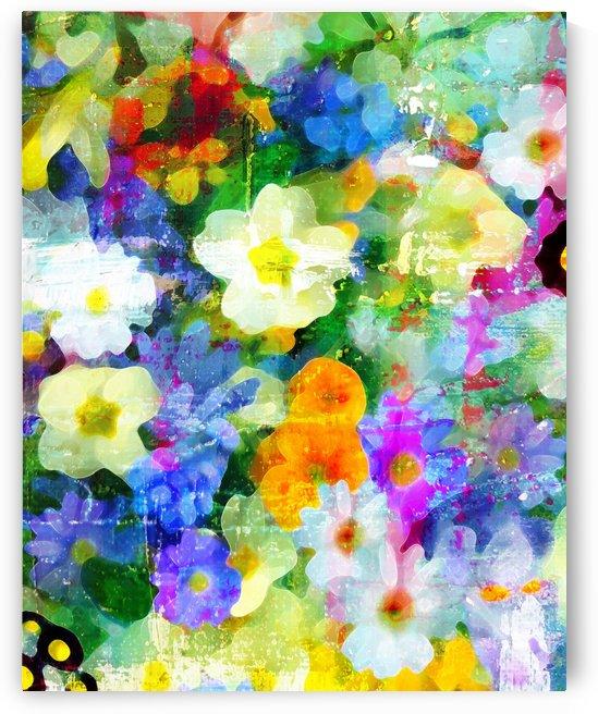 Garden of Abundance by Connie Schofield Art
