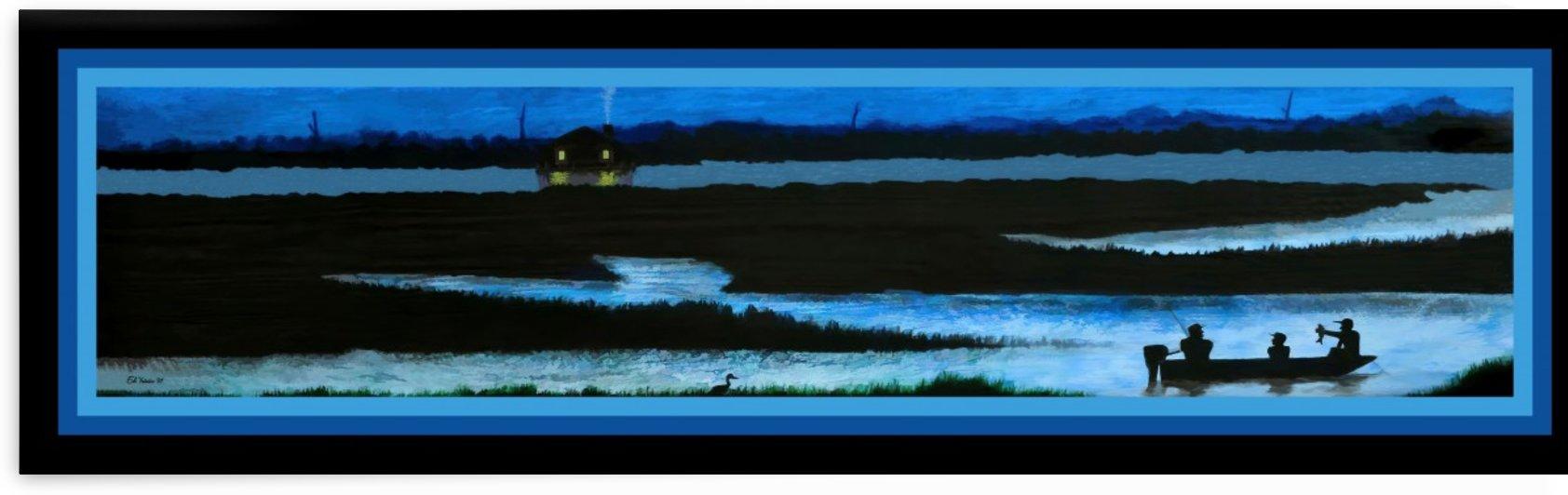 BLUE HOUR - FISHING by Digicam