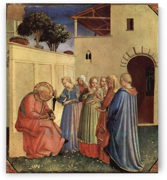 Public teaches by Fra Angelico