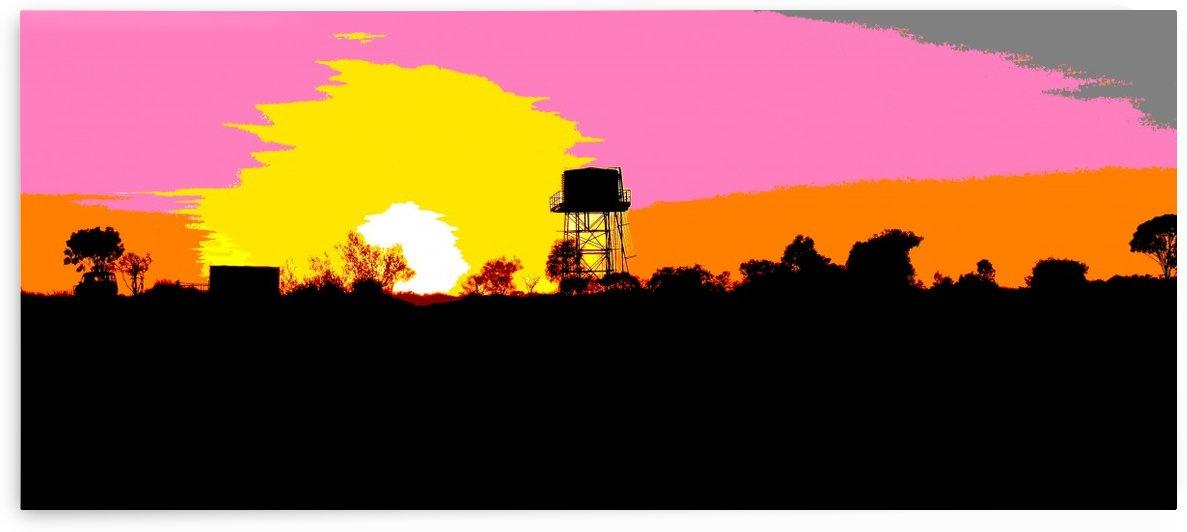 Outback Sunset by Lexa Harpell