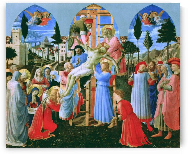 The Deposition from the Cross by Fra Angelico