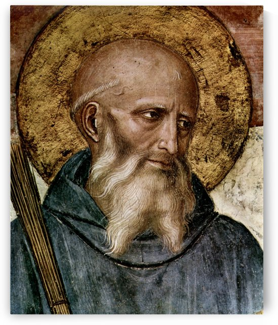 Portrait of Fra Angelico by Fra Angelico