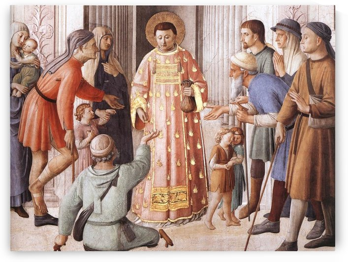 Pope Sixtus by Fra Angelico