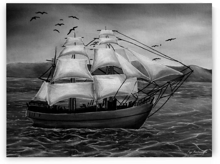 Nautical Seascape by Faye Anastasopoulou