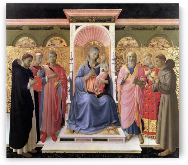 Annalena Altarpiece by Fra Angelico