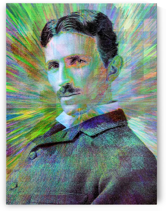 Electric Tesla by Jon Woodhams