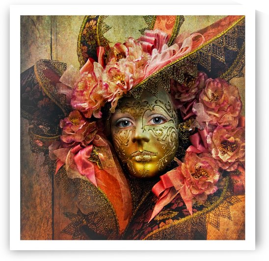 Venetian Mask by Lily Markovic