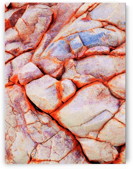 Australia Rocks - Abstract 2 by Lexa Harpell