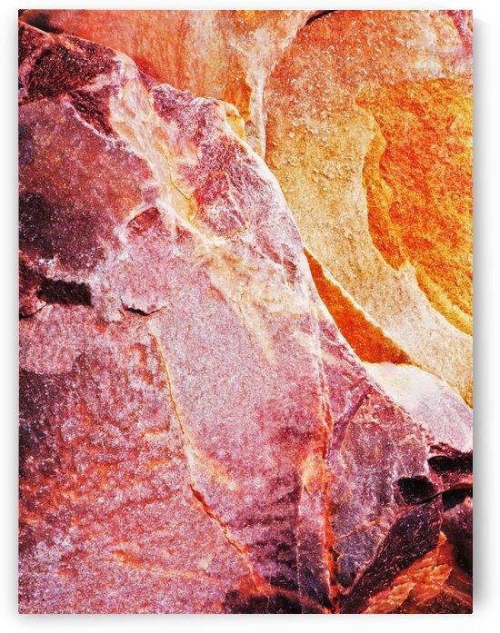 Australia Rocks - Abstract 6 by Lexa Harpell