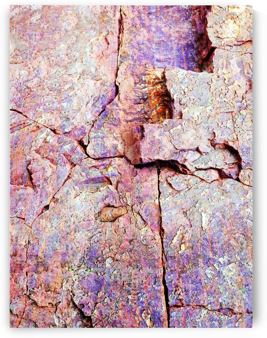 Australia Rocks - Abstract 8 by Lexa Harpell