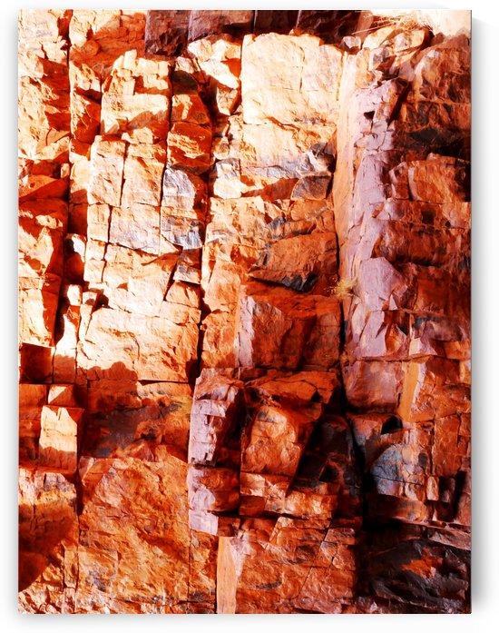 Australia Rocks - Abstract 11 by Lexa Harpell