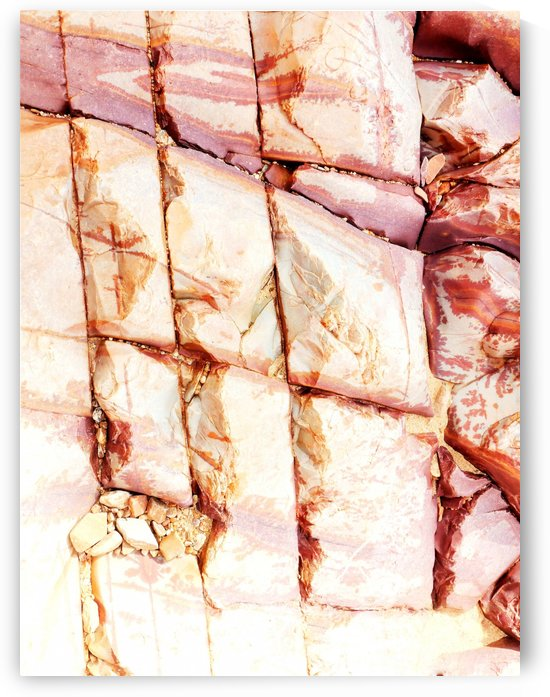 Australia Rocks - Abstract 13 by Lexa Harpell