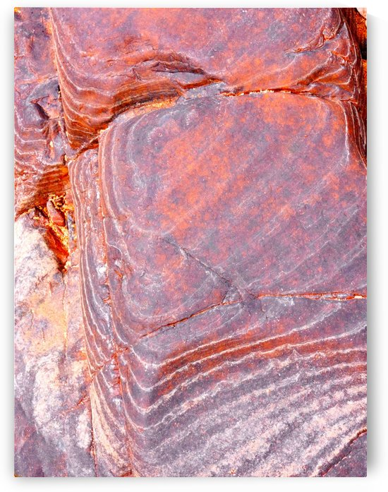 Australia Rocks - Abstract 15 by Lexa Harpell