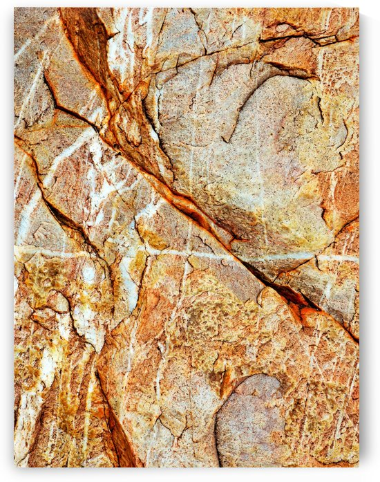 Australia Rocks - Abstract 19 by Lexa Harpell
