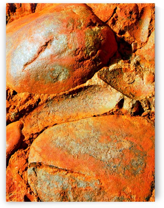 Australia Rocks - Abstract 21 by Lexa Harpell