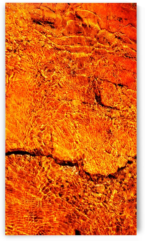 Australia Rocks - Abstract 31 by Lexa Harpell