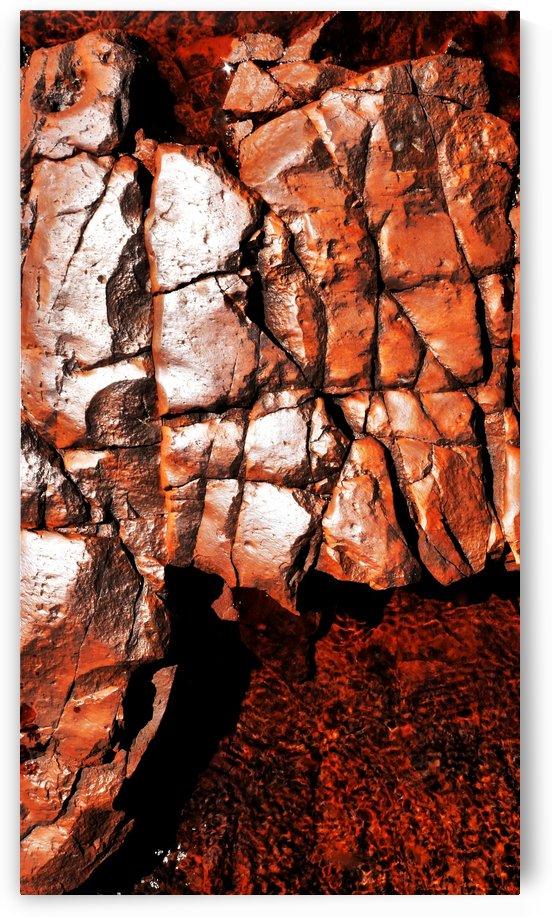 Australia Rocks - Abstract 33 by Lexa Harpell