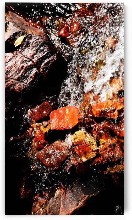 Australia Rocks - Abstract 35 by Lexa Harpell