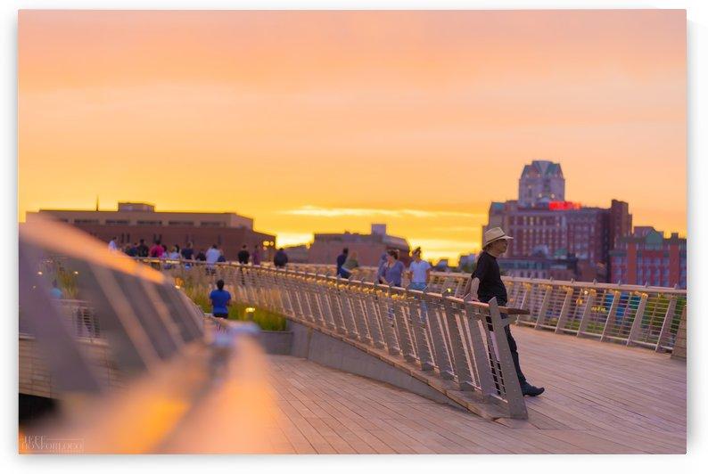 Providence Pedestrian Bridge  by JeffHonforloco Photography