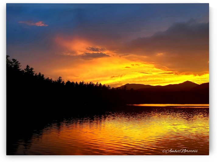 Firey Sunset by Amber Norcross