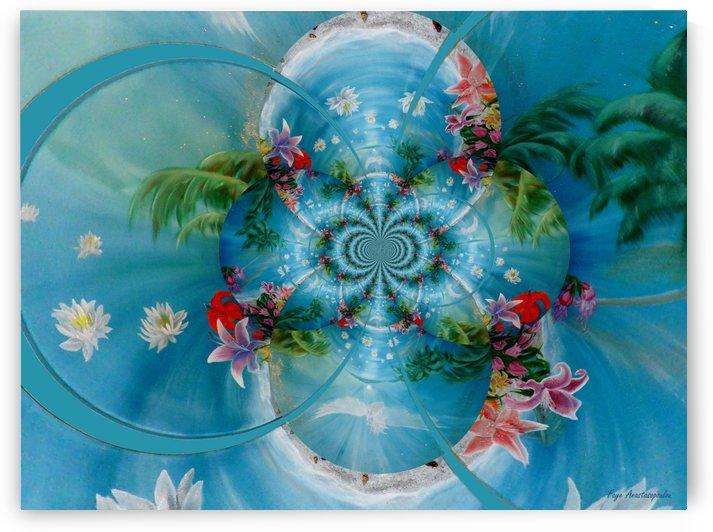 Tropical Kaleidoscope by Faye Anastasopoulou