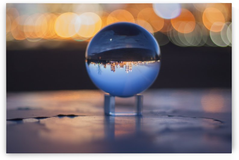 MKE Glass Ball Reflections by Tiffany Ross