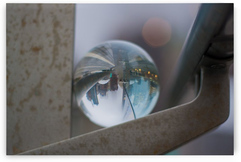 NYC Glass Ball Reflections by Tiffany Ross