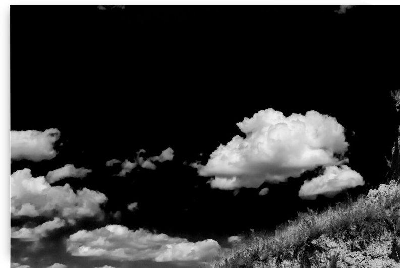 Bumper Clouds.BW.IR by Garald Horst