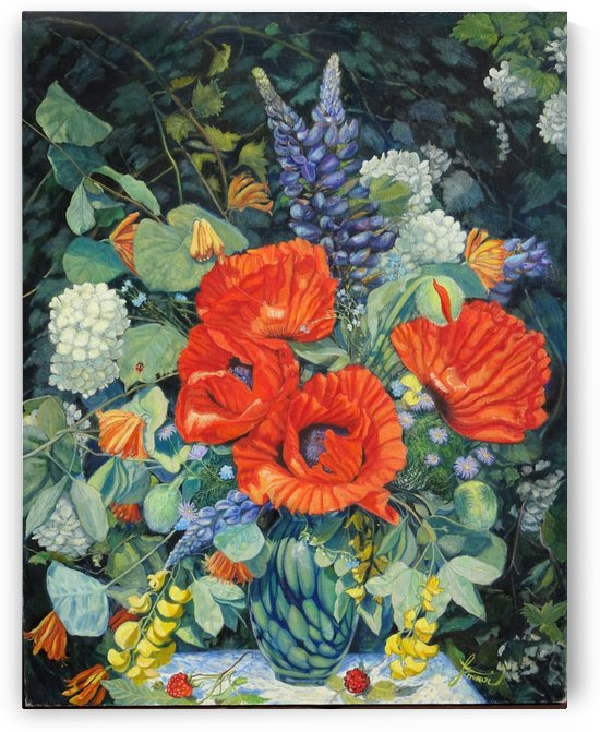 Poppies by Inoka LaVallee