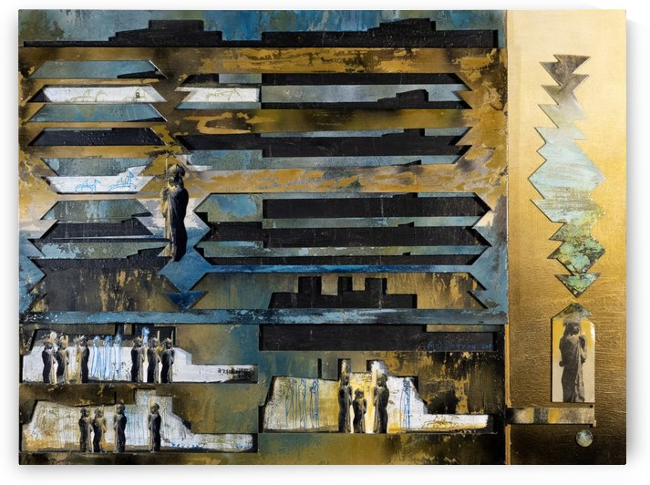Mozaik 4 by Marie-Denise Douyon