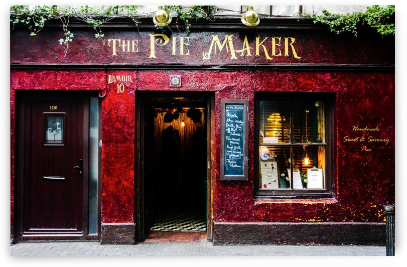 Galway Ireland - Pie Shop by Lexa Harpell