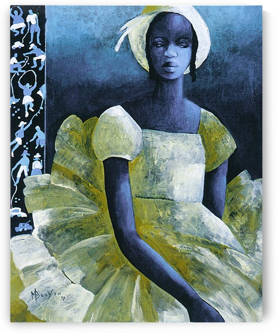 Birthday girl by Marie-Denise Douyon