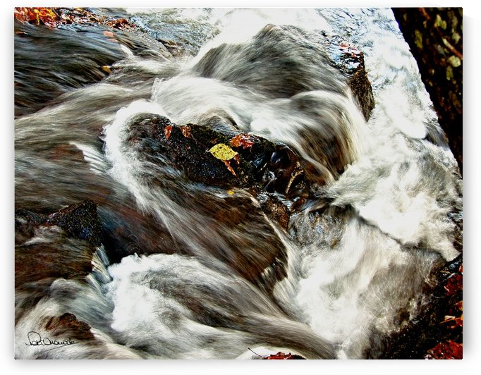 Rushing Stream by Peter Horrocks