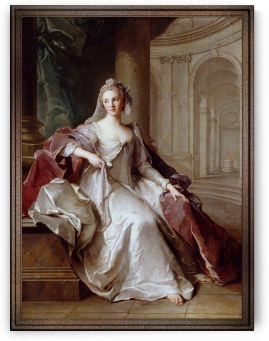 Madame Henriette de France as a Vestal Virgin by Jean-Marc Nattier by xzendor7