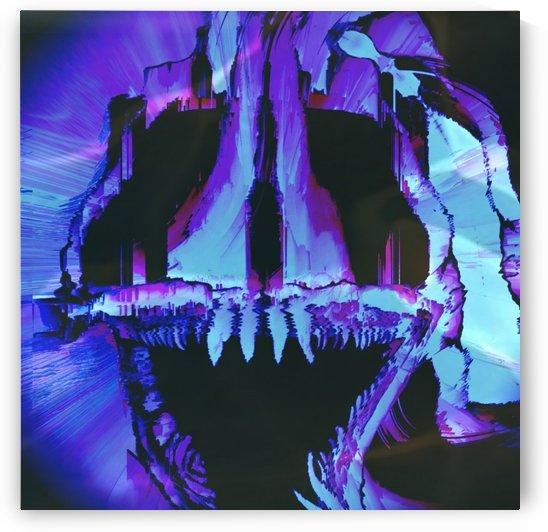Wolf Eel Skull by Rabid Solutions