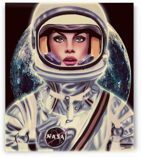 Le Cosmonaute by Mayka ienova
