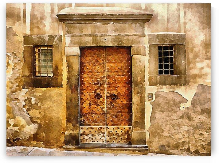 Old Door Cortona by Dorothy Berry-Lound