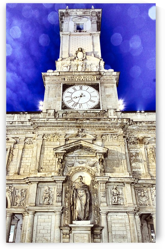clock tower by Luigi Girola