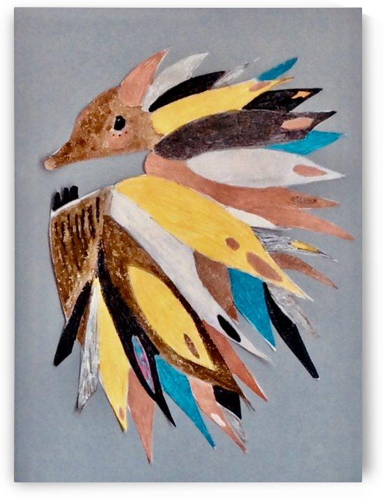 Echidna by Zaramar Paintings