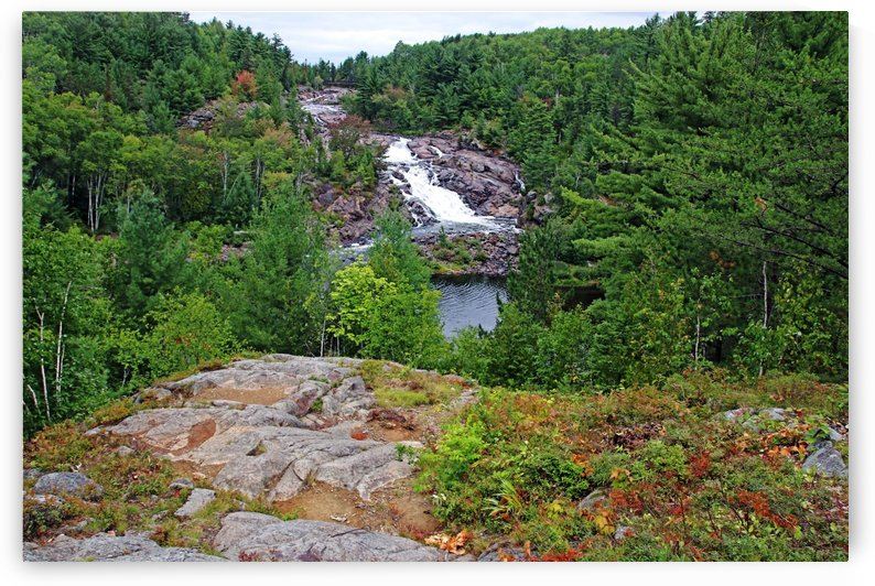 Onaping Waterfalls Lookout by Deb Oppermann