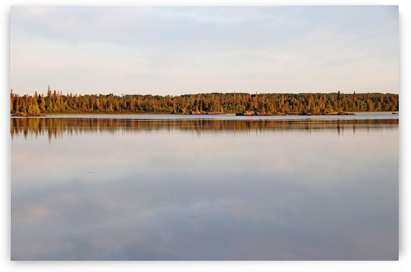 Bonar Lake Morning Light by Deb Oppermann