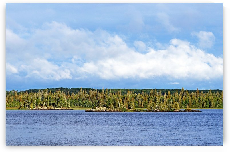 Bonar Lake Islands I by Deb Oppermann