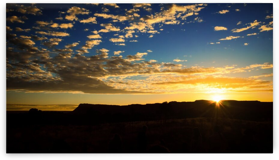 Kings Canyon - Central Australia by Lexa Harpell